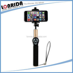Low Cost Wholesale Portable Foldable For Camera And Smart Phone Extendable Monopod