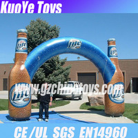 inflatable bottle promotion arch for sale