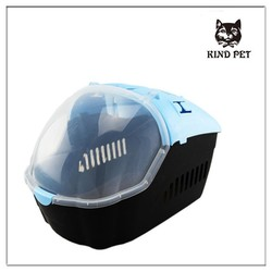 hot pet products fashion design plastic pet carrier dog cats and dogs