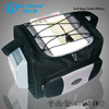 Portable electronic travel tools cooler bag with bluetooth speaker