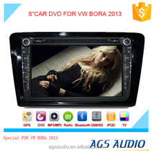 8 inch car dvd gps navigation for Volkswagen BORA 2013 system with TV/Bluetooth/iPod/RDS/mp3/radio