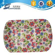New flower household cheap plastic plate