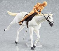 Custom Plastic Race Horse toy OEM Plastic Animal Figurines Horse