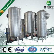 filtro de carbón activado el plan de tratamiento de agua de la planta 10 gpm auto lavado de nuevo