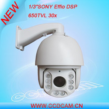 Security product sony 650tvl ptz dash camera 360 degree for import
