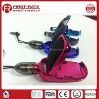 Multi-function Plastic screen touch Pen & mobile phone holder