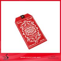 Sinicline print UV laminate paper price tag label