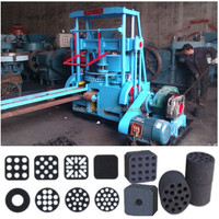 Coal lumps briquette making machine/ honeycomb coal processing machine