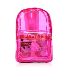 2013 New Transparent Teen Backpack Designer waterproof beach bag School Bag