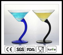 customized funny colorful champagne coupes