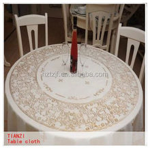 china textile factory jute stretch table cloths