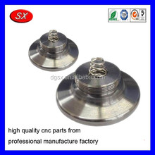 Stainless Steel End Cap with Spring CNC Precision Machining Parts,OEM/ODM service