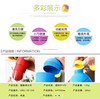 detachable Easy drink Sports Portable plastic Corn Capsule bottle with Cup / travel mug with cup/plastic water bottle