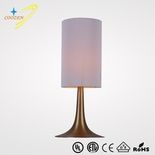 GZ60008-1T 2015 Newly Develop Table Light Modern fabric table lamp contemporary hotel Bedroom Desk Lamp