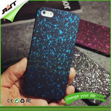 MOQ 100pcs PC splatter fashion glitter mobile phone case for samsung galaxy a5