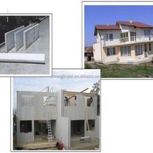 Réduction des coûts béton préfabriqué parole et panneaux de toit