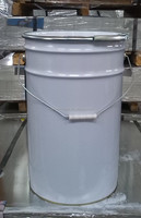 7 gallon lock lid pail for paint/ ink, 450mm height, white bucket