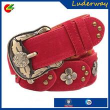 2015 fashionable rivet diamond vintage strap women belt all-match casual rhinestone genuine leather belt
