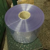 factory price semi tube pvc shrink film