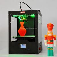 Professional DD2 extruder U3 type digital 3D printer / new products 2015 innovative product 3d printer