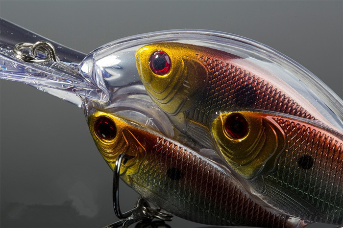 2015 new fishing lure school fish minnow crank hard lure 5 for School of fish lure