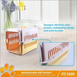 Used aluminum dog boxes/plastic dog kennels
