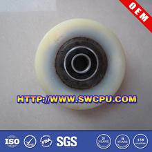 Factory wholesale PU/PA Durable Nylon wheel