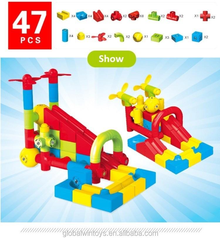 New Building Blocks Magnetic Pipeline Enlighten Toys Bricks DIY Educational Toy.jpg