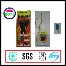 2015 Hot sale best quality elephant super glue within 3-5 seconds