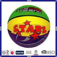 made in China hot sell promotional customized logo wholesale basketball brand