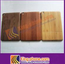 exquisite Sapele two parts Wood case For Ipad Mini