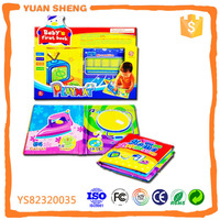Wholesale soft and colorful baby cloth book baby first book educational cloth book