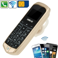 Cool Micro SIM Card Mini Phone with Hands Free Bluetooth Dialer and headphone