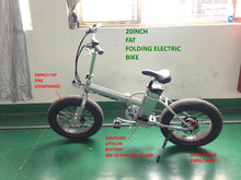 new arrival fat tyre folding hybrid bike