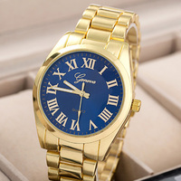 2015 new bracelets fashion ladies watches stainless steel back geneva quartz watch
