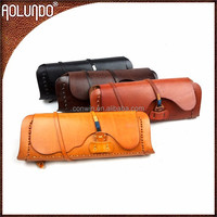 The latest evening clutch style vegetable tanned genuine leather evening bag