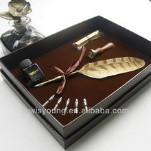 High end singing feather gift pen