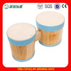 2015 New Kids Wooden Drum,Professional Wooden Music kids Drum for sale