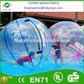 Jouet gonflable de pvc style/tpu. boule de l'eau flottant, gonflable de l'eau à pied balle,intérieur fontaine bal