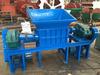 Industrial teeth type metal crusher equipment/metal scrap crusher production machine price