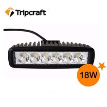 Fast Delivery 4x4 Car Accesssories Spot Flood Rectangle 6 Inch 18w Tractor Led Work Light