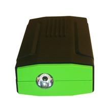 Mini 12800mAh Li-polymer battery power bank Auto EPS LED Flash Light Car charger