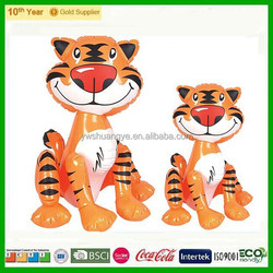 Newest design Fast Delivery Custom Inflatable tiger toy for kids