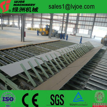gypsum board making machine thermal oil drying type