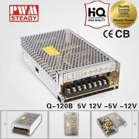 120W Quad Output Switching Power Supply Q-120B 5V 12v -5V -12V switching power supply power supply manufacturer