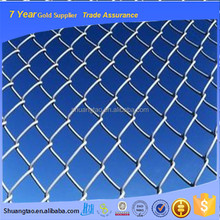 Stable type galvanized chain link fence for sale