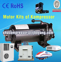 Motor KIts of Kompressor telecom station refuge shelters tour leisure camp tents temporary building