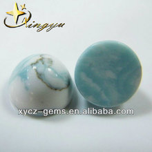Wholesale China Supplier Round Cabochon Cut Blue Turquoise