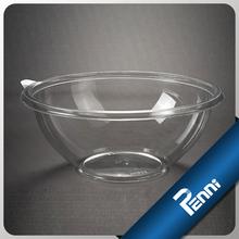 16oz transparent plastic food container