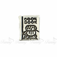 F043 Fashion Special Zinc Alloy Book Floating Charms Lovely Charms For Floating charms.